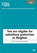 Brochure Subsidiary protection in Belgium